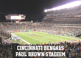 Cincinnati Bengals Paul Brown-Stadium