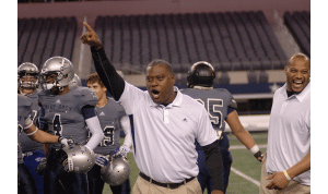 NFL veteran George Teague is among many one-time professional players now turned coaches for the Blue-Grey All-American Bowl.