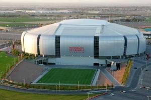 University of Phoenix Stadium and practice field