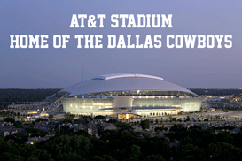 AT&T Stadium Arlington TX Home of the Dallas Cowboys