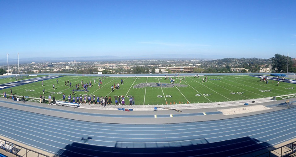 College of San Mateo field