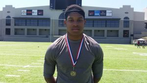 Underclassman, or not, Nathaniel Watson turned plenty of heads during the recent Blue-Grey All-American Combine (Alabama Regional).