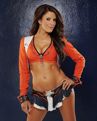 Denver cheerleader