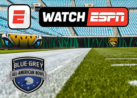Blue-Grey Watch ESPN Jacksonville